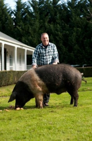 Kenneth Neff makes nitrate and nitrite-free hams and bacons at his Woolumbi Farm