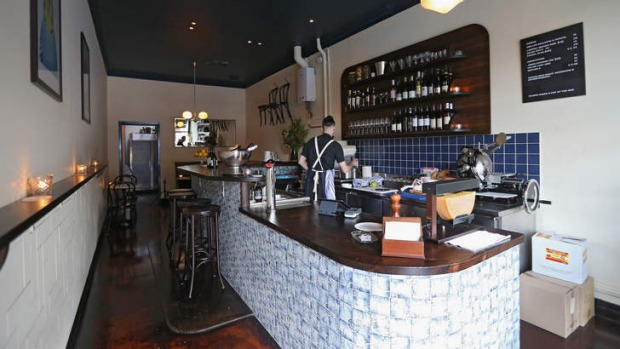 Stand-out: The tiled bar at Smithward.
