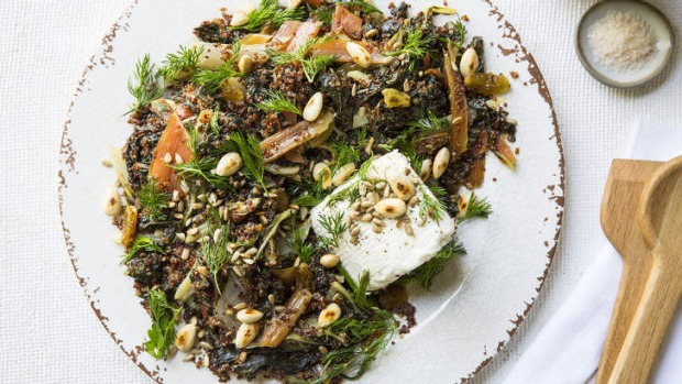 A great side dish for grilled meat, this salad is also delicious on its own.