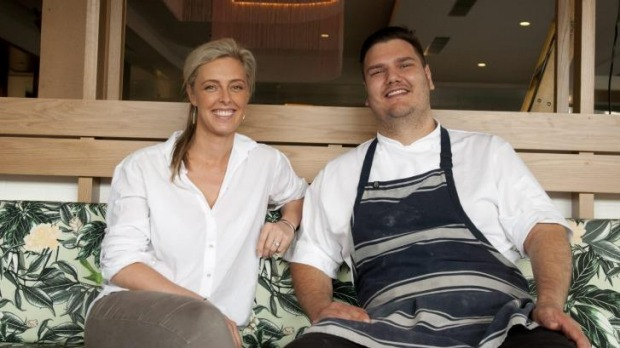 Manager Jacqueline Madden and chef Giuliano Melluso at Darling & Co.