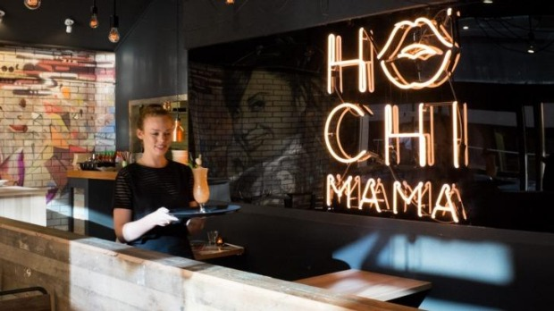 Hochi Mama combines hip-hop, modern Vietnamese food and tropical cocktails.