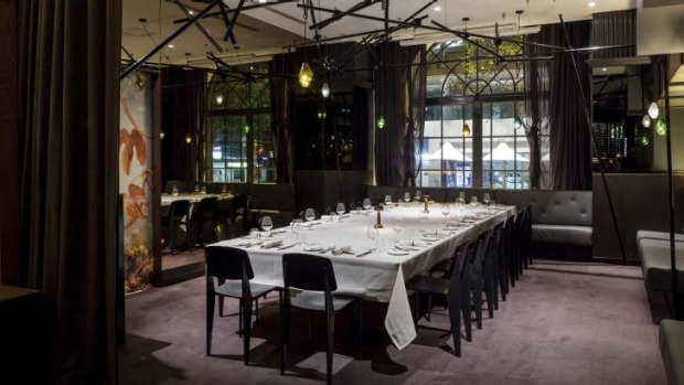 sydney s best private dining rooms 2015