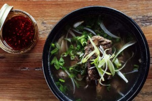 Beef pho at Hello Auntie in Marrickville.