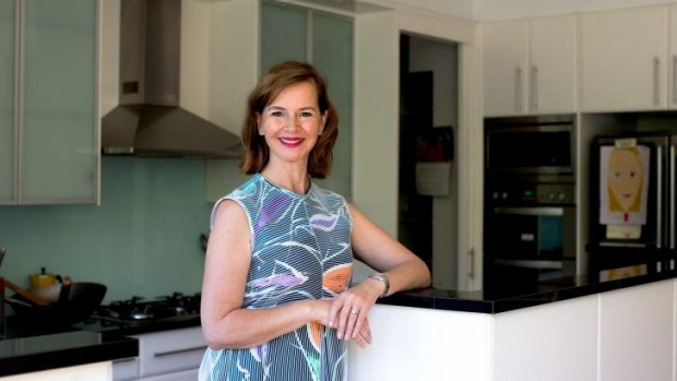 Departing Good Food editor Ardyn Bernoth in her kitchen at home.