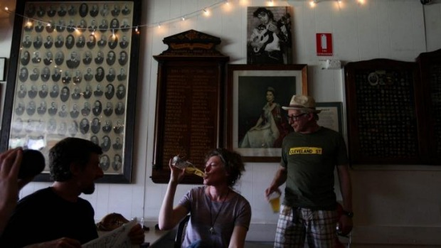 The doors at the Petersham Bowling Club have been swinging since 1896.