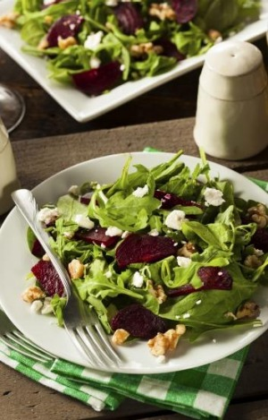 Summer delight is a beetroot-based salad.