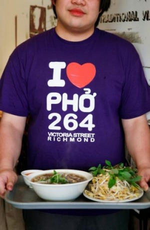 I Love Pho T-shirts are as popular as the rice noodle soup.