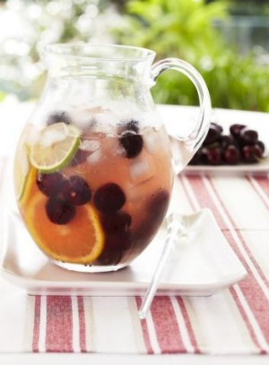 Sangria is eminently drinkable and packs a punch.
