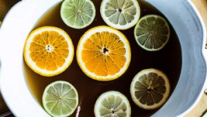 Colonial tea punch