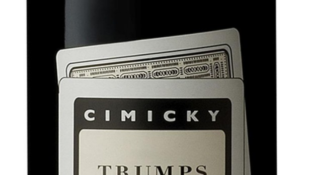 "Charles Cimicky ""Trumps"" Barossa Valley Shiraz 2014 $16.20-$22"