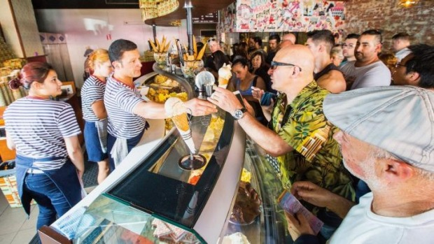 Queuing for your gelato could be a thing of the past.