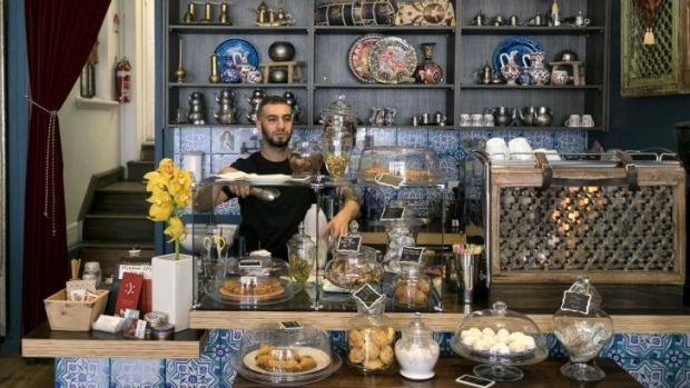 Designer's touch: The Turkish Tea House combines cafe and homewares store.
