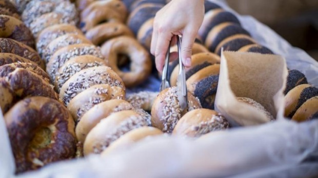 Brooklyn Boy Bagels at Sydney Living Museums' Christmas Fare market.