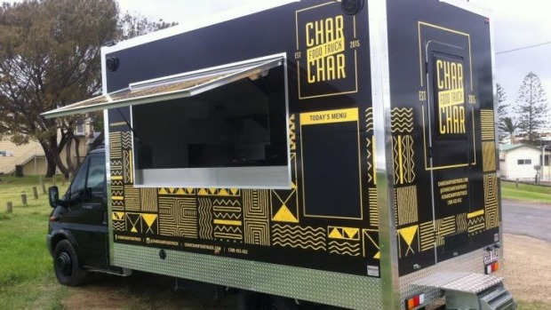 Char char bar grill food truck comes to sydney for Food truck bar