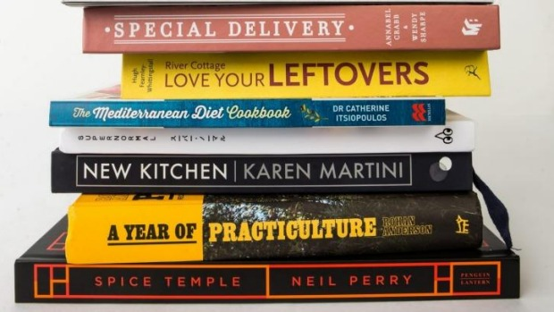 Perfect gifts: Cookbooks for Christmas.