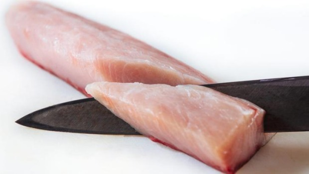 When making sushi at home, use a sharp knife and the freshest fish.