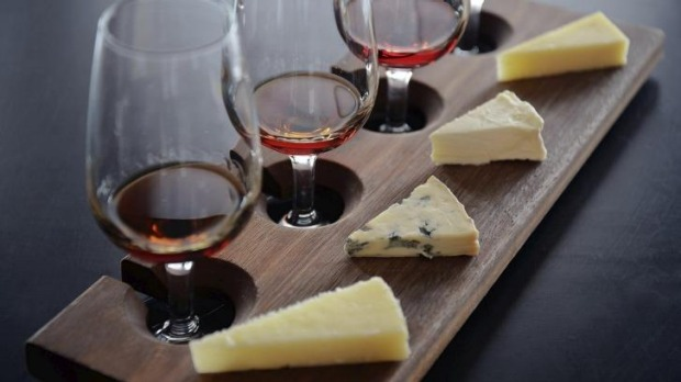 Milk The Cow's Laura Lown says to contrast the rich blow-out flavours of blue cheese with a sweet dessert wine.