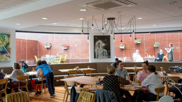Light and bright: Power Plant Cafe is about enjoyable, healthy, sustainable food.