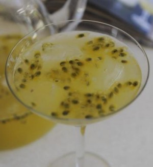 Annabel's summer passionfruit cocktail.