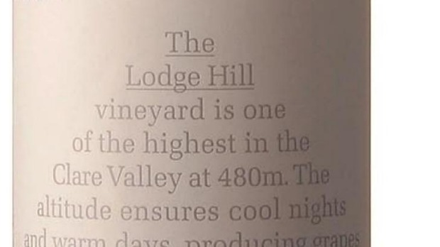 Jim Barry The Lodge Hill Clare Valley Riesling 2015, $20.89-$22.