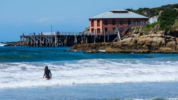East of Bega is Tathra, with its surf beach and historic wharf.