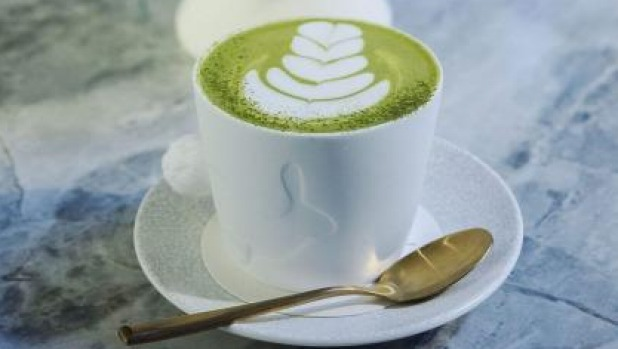 Appealing: The matcha latte at Rabbit Hole Organic Tea Bar.