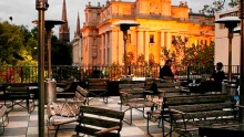 Siglo rooftop terrace at The European