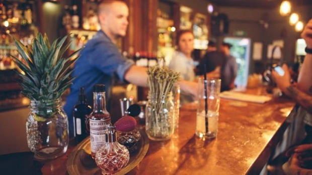The Bolt Hole in Byron Bay serves cocktails and has a tinnie-only focus.