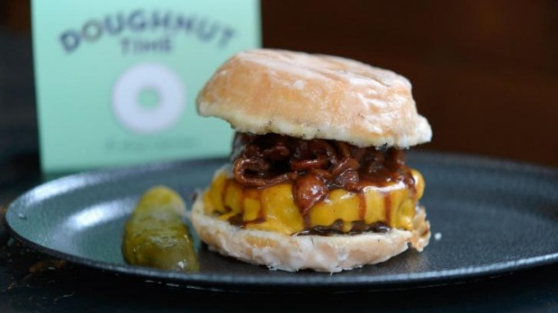 Don't tell your doctor about Doughnut Time and Ze Pickle's latest venture.