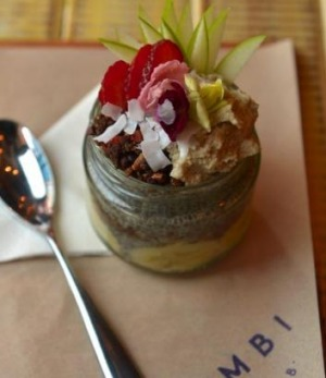 Chia Party pudding at Combi.