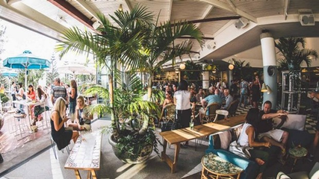 Sit on the balcony of the Coogee Pavilion and enjoy a round of skewers and cocktails.