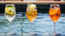 Spend your sunny days at The Old Clare Hotel rooftop pool bar.