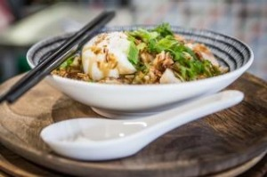 Chicken congee at Luxsmith, Seddon.