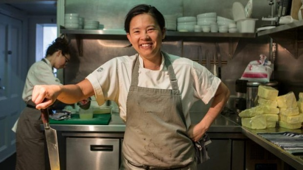 Cooking up a storm: Thi Le, chef and co-owner of Anchovy in Richmond.