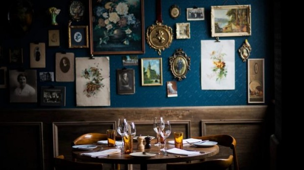 High steaks: Fitzroy Town Hall's beautifully revamped dining room.