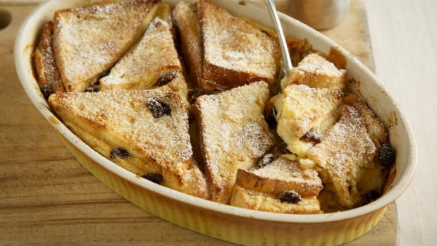 Put your own stamp on this traditional bread and butter pudding.
