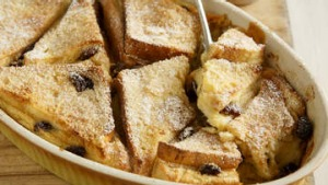 Bread and butter pudding,
