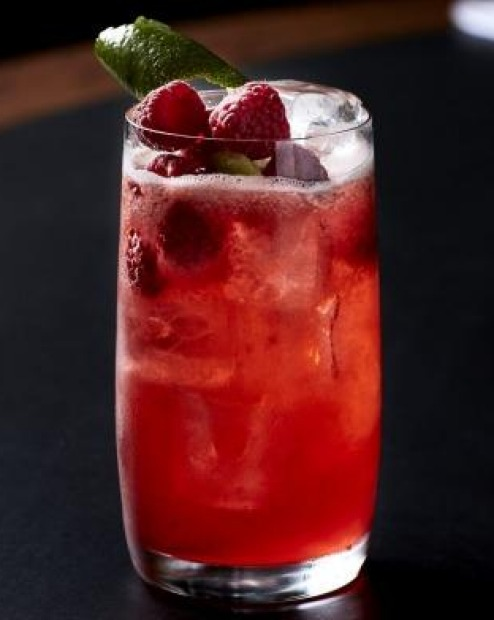 Get familiar with the flavours of raspberry and juniper in a Courtside Cooler <a ...