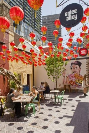 Spice Alley at Kensington Street, Chippendale