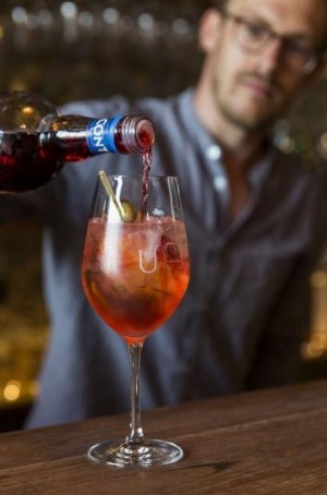 The 'Pirlo' spritz is summer in a glass.