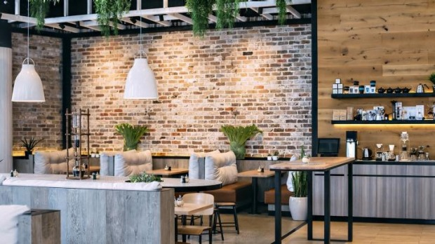 The lush and airy Interiors at this new cafe are by Giant Design.