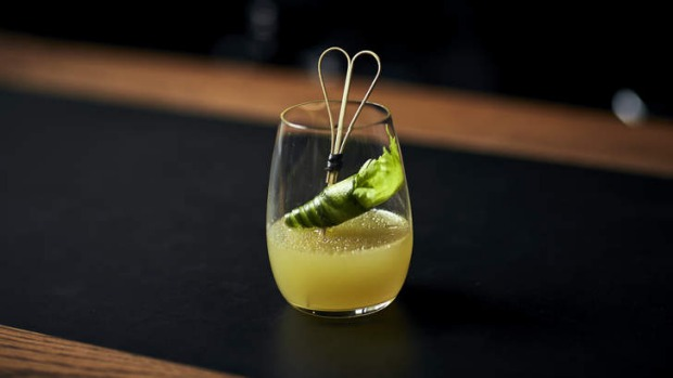 Refreshing drop: The El Verde complements Mexican and Japanese cuisine, and fish dishes.
