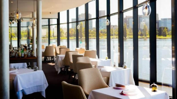 The newly renovated Point restaurant on Albert Park Lake.
