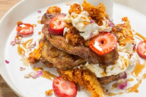 Croissant french toast at Wynyard.