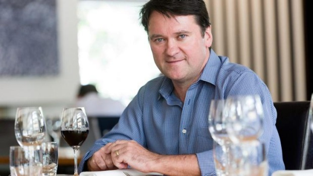 Pure South restaurant owner Philip Kennedy.