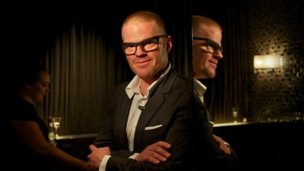 Heston Blumenthal is popping up in Melbourne.