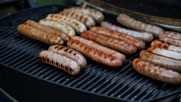 The top 10 sausages were also cooked on a Weber barbecue.