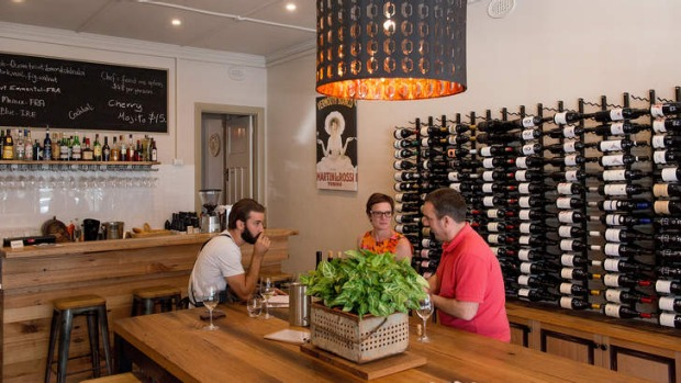 Bottles are available to takeaway at Hampton Wine Co.