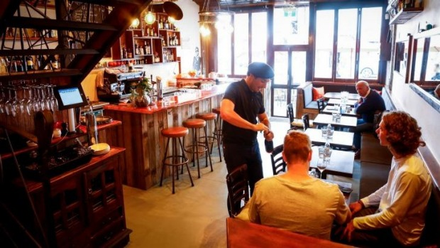 Open morning to night: French bistro Bon Ap' in Fitzroy.