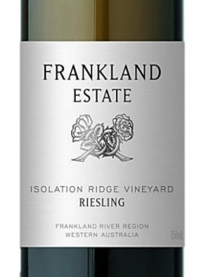 Frankland Estate's Isolation Ridge Riesling is certified organic.